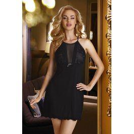 Elegantní košilka Emi Black  černá