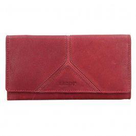 Dámská kožená peněženka Lagen Frela - červená